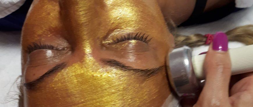 tratament gold facial
